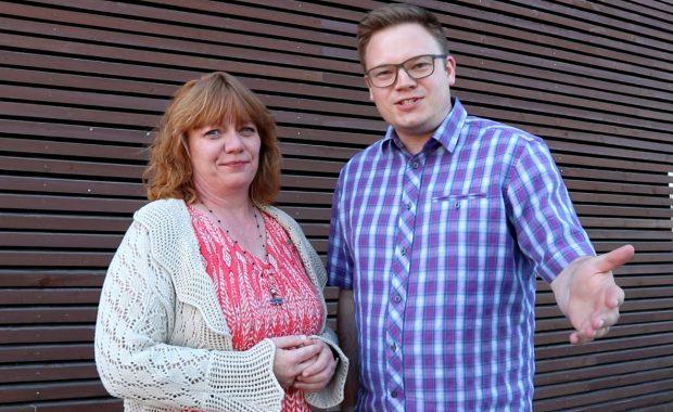 Leder og nestleder i styringsgruppen for Mjøsbyen; Anne Karin Torp Adolfsen og Even Aleksander Hagen